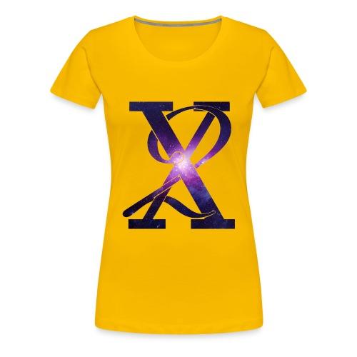 Galaxy X2 - Women's Premium T-Shirt