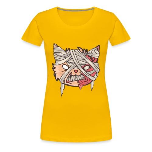 Mummy Cat - Women's Premium T-Shirt