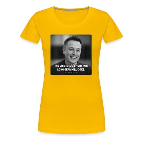 Elon Musk - Women's Premium T-Shirt