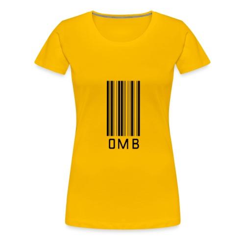 Omb-barcode - Women's Premium T-Shirt