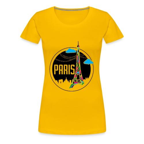 Paris - Women's Premium T-Shirt