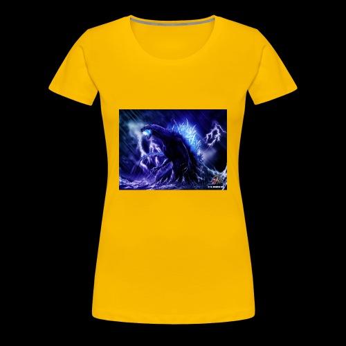 godzilla - Women's Premium T-Shirt