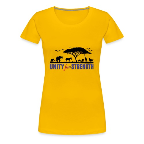 Unity for Strength - Women's Premium T-Shirt