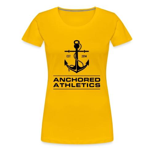 Anchored Athletics Classic Logo - Women's Premium T-Shirt