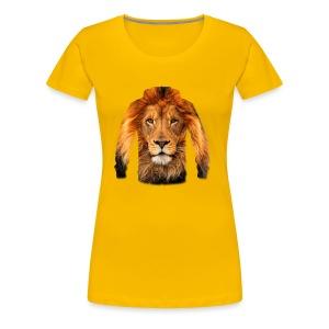 لبس أسد - Women's Premium T-Shirt