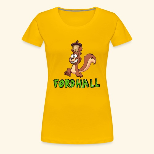 squirrel fordhall1 - Women's Premium T-Shirt