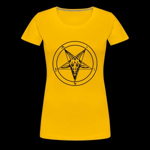 Sigil of Baphomet - Women's Premium T-Shirt