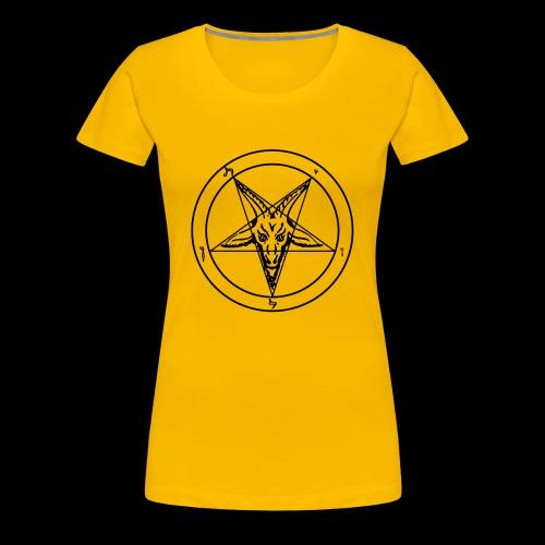 Sigil of Baphomet - Women's Premium T-Shirt