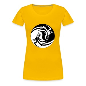 Dragon Circle - Women's Premium T-Shirt