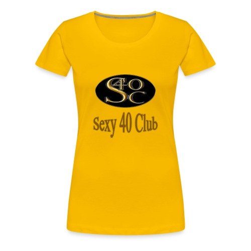 s40c logo trans - Women's Premium T-Shirt