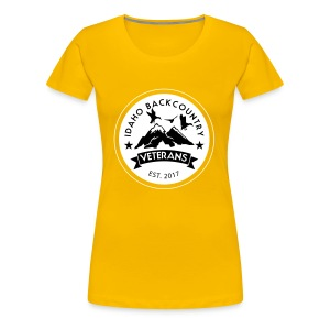 idaho hunting and fishing vets - Women's Premium T-Shirt