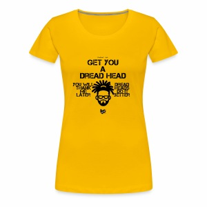 dread head - Women's Premium T-Shirt
