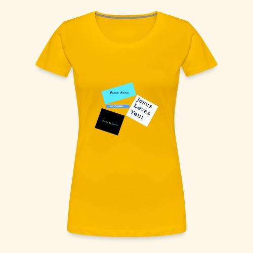 Jesus delivers - Women's Premium T-Shirt