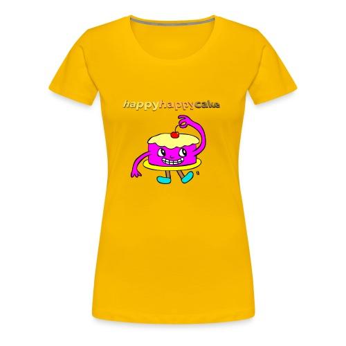 happyhappycake - Women's Premium T-Shirt