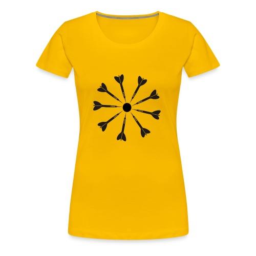 9 Darts Dart Shirt - Women's Premium T-Shirt