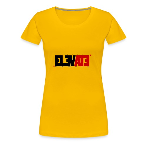 ELEVATE - Women's Premium T-Shirt
