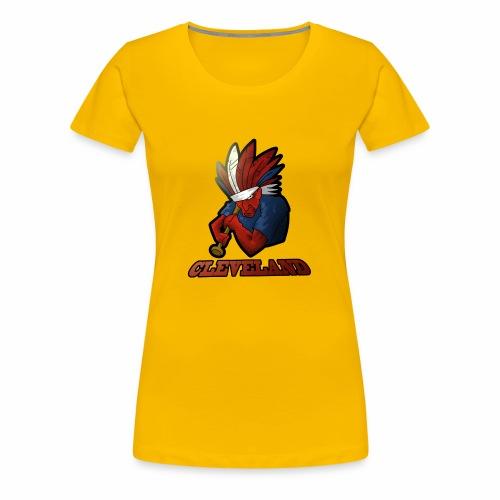 Cleveland Baseball Fan - Women's Premium T-Shirt