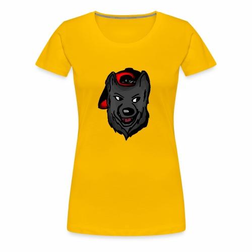 Wolf logo 2 - Women's Premium T-Shirt