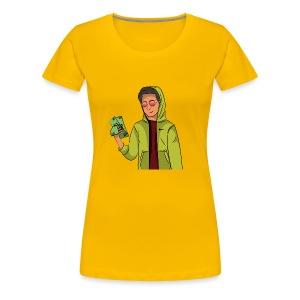 iCarriedYou Drawn Out - Women's Premium T-Shirt