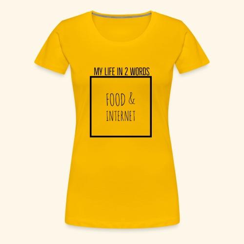 EB41B054 9076 4143 813B A25101C43DFA - Women's Premium T-Shirt