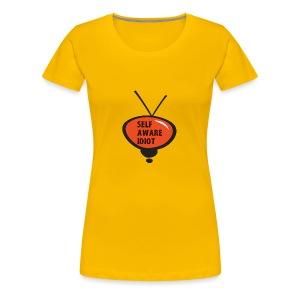 SELF AWARE IDIOT - Women's Premium T-Shirt