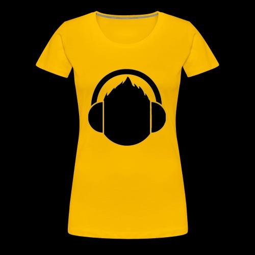 The classic Headphone guy - Women's Premium T-Shirt
