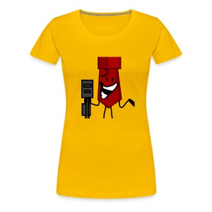 And Then He Went Like - Women's Premium T-Shirt