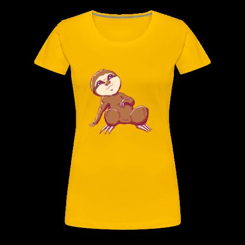 Baby Sloth - Lio - Women's Premium T-Shirt