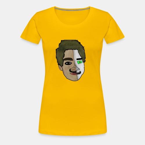 KamillPlayZ Rajzolt Fej - Women's Premium T-Shirt