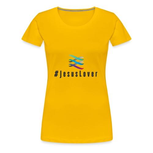 #JesusLover - Women's Premium T-Shirt