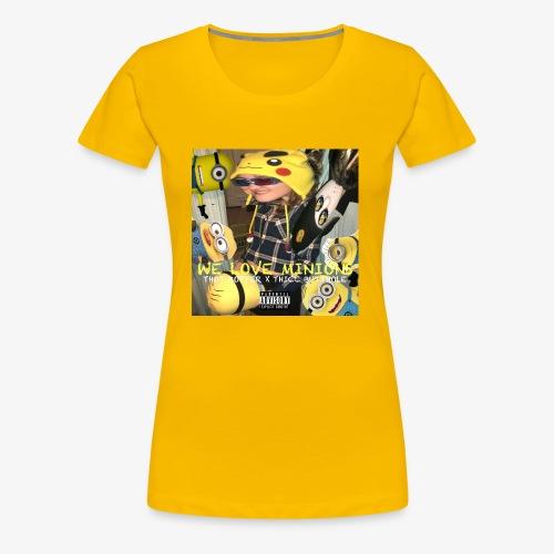 WE LOVE MINIONS - Women's Premium T-Shirt