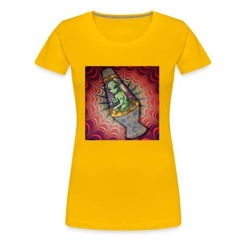 Lava alien - Women's Premium T-Shirt