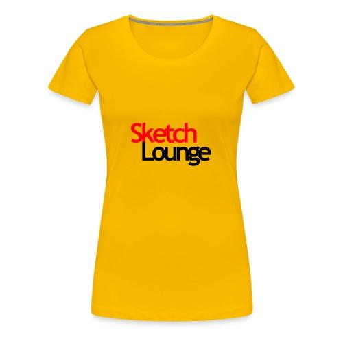 SketchLounge Logo - Women's Premium T-Shirt