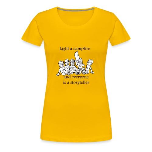 story teller - Women's Premium T-Shirt