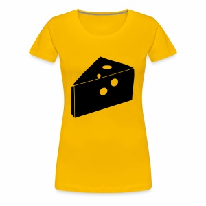 Cheese Man - Women's Premium T-Shirt