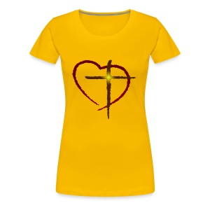Cross My Heart - Women's Premium T-Shirt