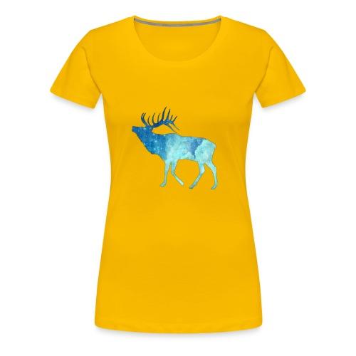 Night time deer - Women's Premium T-Shirt