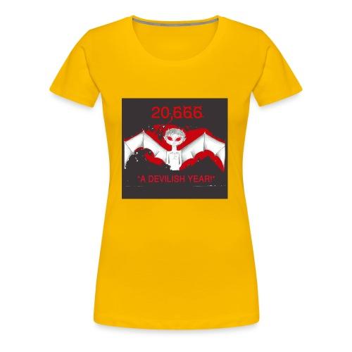 A Devilish Year T-Shirt - Women's Premium T-Shirt