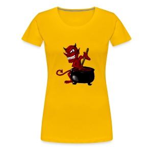 Devil Soup - Women's Premium T-Shirt