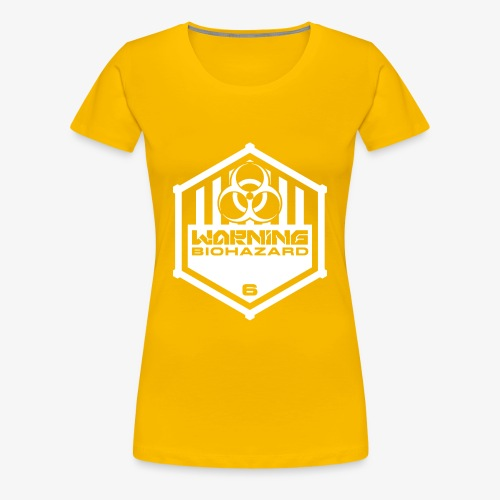 Warning: Biohazard - Women's Premium T-Shirt