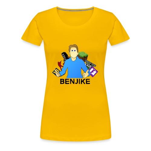 Gamer Benjike termékek - Women's Premium T-Shirt