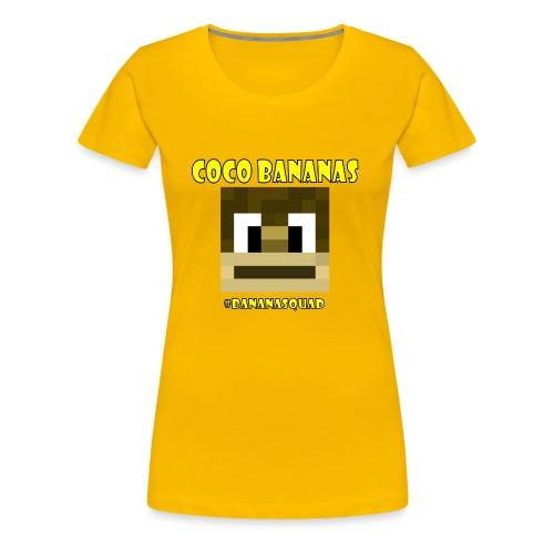 Coco Bananas - Women's Premium T-Shirt