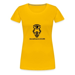 Channel Name And Logo - Women's Premium T-Shirt