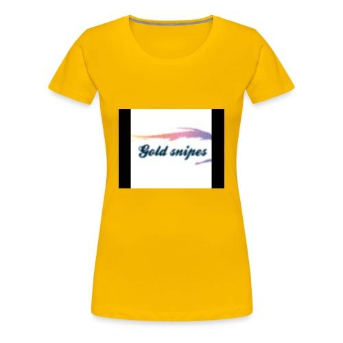 Kids Gold snipes Tshirt - Women's Premium T-Shirt