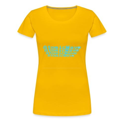 Wave - Women's Premium T-Shirt