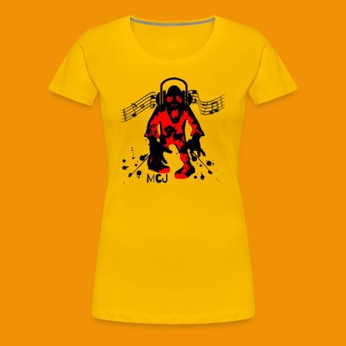 Music Zombie - Women's Premium T-Shirt
