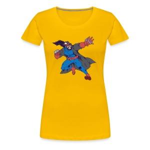Jason has attained hero status - Women's Premium T-Shirt