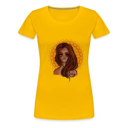 Beautiful Moon Girl Baddie - Women's Premium T-Shirt