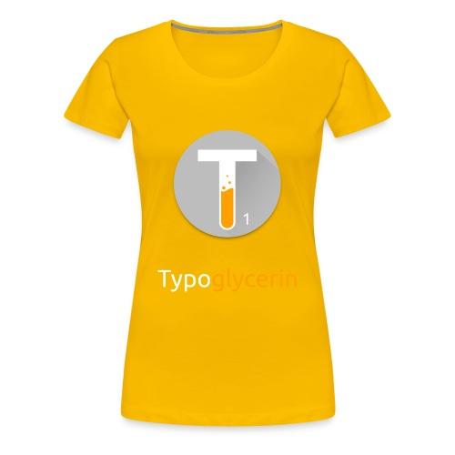 Typoglycerin Logo Bestsellers - Women's Premium T-Shirt