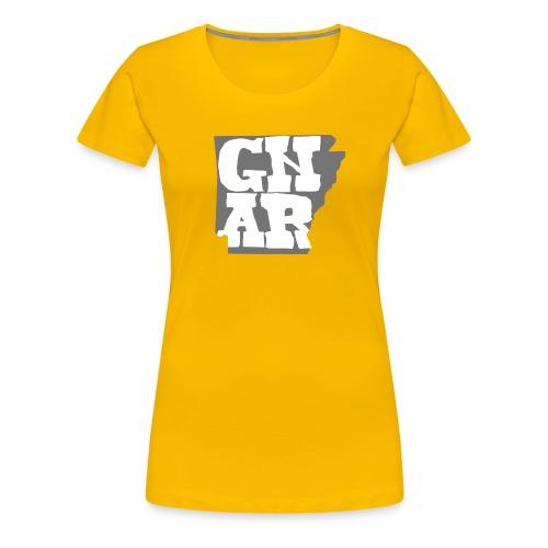 Gnar State Logo - Women's Premium T-Shirt